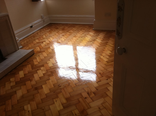 Wood Floor Restoration in North Wales by Woodfloor-Renovations