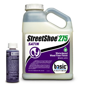 Streetshoe 275 Wood Floor Finish