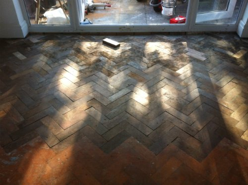 Restored Parquet Wood Block Floor in Cheshire by Woodfloor-Renovations