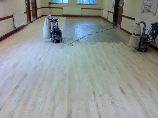 Wood Floor Sanding And Sealing In North Wales Ffynnongroyw Community