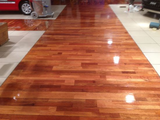 Junckers Wood Floor Restoration At Booths Of Ditton Car Showroom Widnes