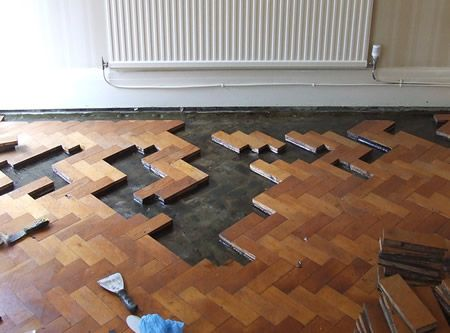Oak Block Flooring Renovationrepairing Blockswooden Floors