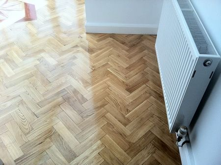 Cheshire Floor Sanding and Parquet Block flooring Restoration