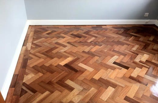 Parquet Wood Block Flooring Restoration And Renovation