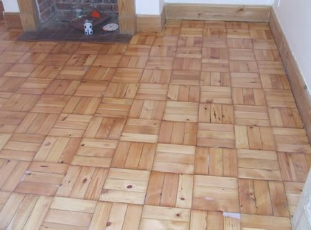 Parquet patterns - French Versailles parquet floors: Versailles