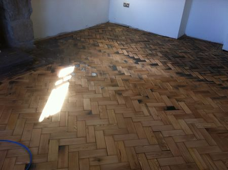 pitch pine wood block parquet flooring renovation repairs. Black Bedroom Furniture Sets. Home Design Ideas