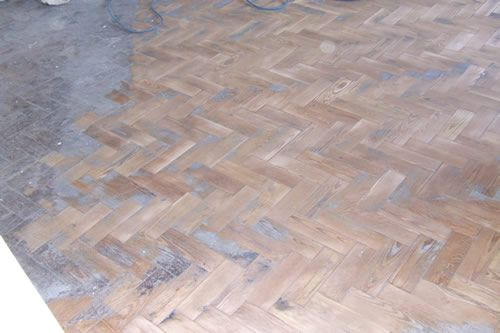 pitch pine herringbone parquet wood block flooring. Black Bedroom Furniture Sets. Home Design Ideas