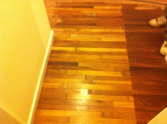 Wood Floor Sanding Mahogany Hardwood Flooring Repairs In