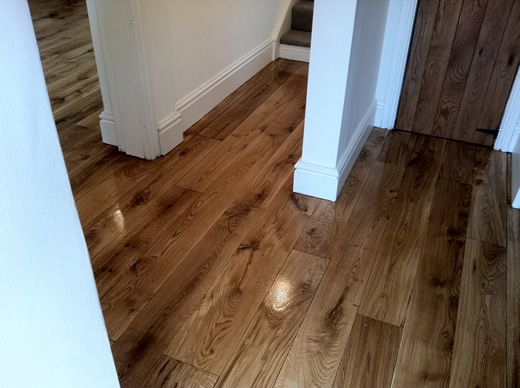 Wood Floor Sanding And Renovation In North Wales Rustic